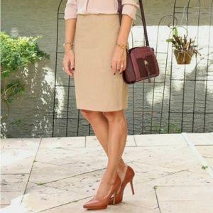 Worthington pencil skirt with banded waist